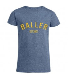 "I Am A ""Baller"" Girls Tee"